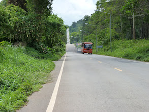 Photo: road Mae Sariang to Chiang Mai - downhill and uphill