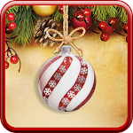 Christmas Balls Live Wallpaper Icon