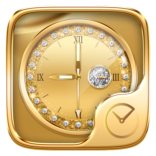 Gold Go Clock Theme