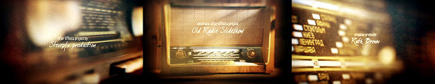 Old Radio Slideshow