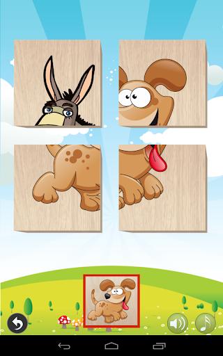 Animals Blocks Puzzle for kids