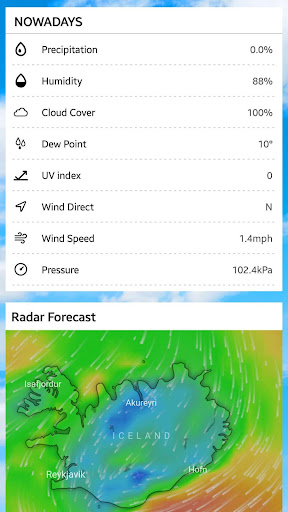 Weather radar & Global weather checker 16.6.0.6270_50153 Screenshots 6