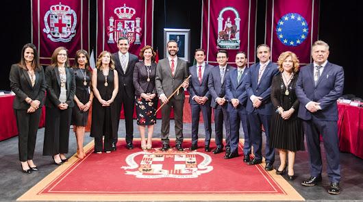 Equipo de Gobierno de la capital fotografiado el pasado sábado.