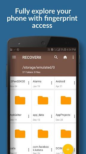 Recoverit - best file explorer 8.0 screenshots 1