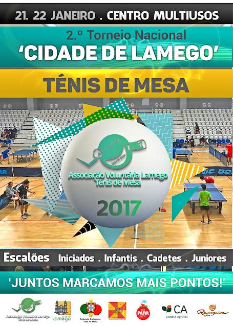 Ténis de Mesa -  II Torneio Nacional