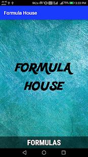 FORMULA HOUSE - náhled
