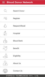 Blood Donor Network - náhled