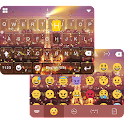 Rainy Paris Emoji iKeyboard icon