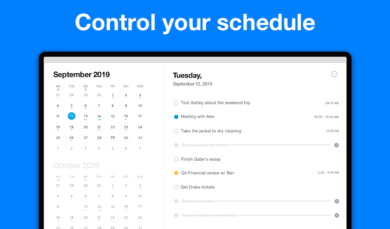 Any.do: To do list, Calendar, Reminders & Planner Screenshot 15