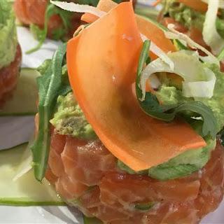 Salmon and Avocado Tartare Recipe