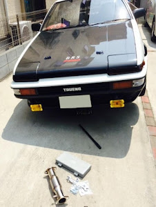 スプリンタートレノ AE86 GT-V 1985年式  2.5型のカスタム事例画像 ケイAE86さんの2019年01月10日21:29の投稿