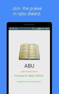 ABU (Igbo Christian Hymn) screenshot