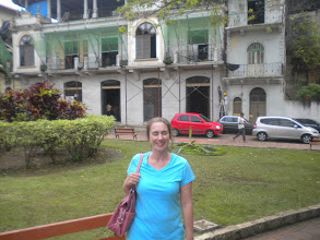Photo: Plaza in old town Panama