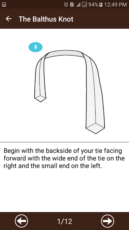 How To Tie A Tie- screenshot