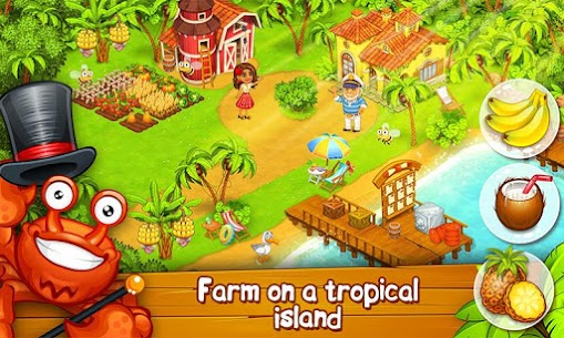 Farm Paradise: Hay Island Bay 1.57 Apk (Unlimited Diamonds) MOD 3
