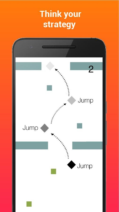 Jumpy Tile- screenshot