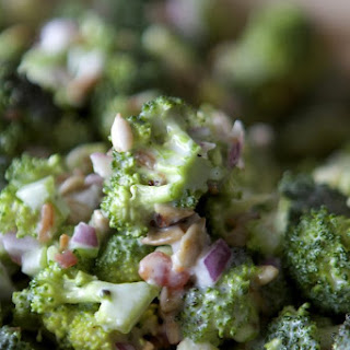 Broccoli Salad Mayonnaise Vinegar Sugar Recipes