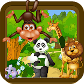 Animal puzzle – kids game