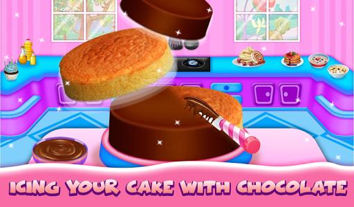 Wedding Cake Maker Girls Cooking Game apktram screenshots 9