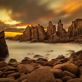 Pinnacles by Madhujith Venkatakrishna - Landscapes Caves & Formations (  )