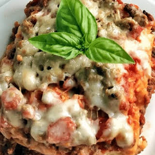 Crock Pot Lasagna.