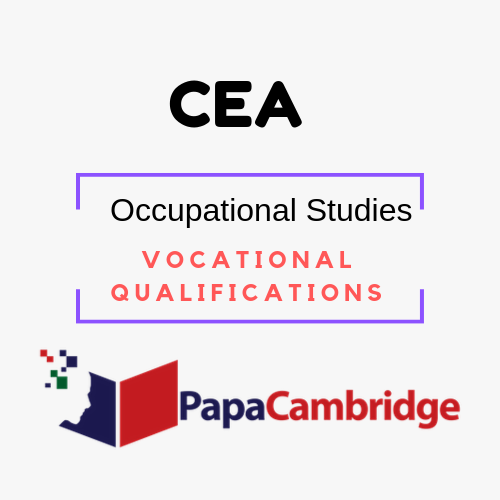 Occupational Studies Vocational Qualifications Syllabus