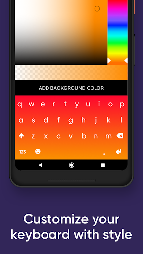 Fleksy- Emoji & gif keyboard app 9.7.2 screenshots 5