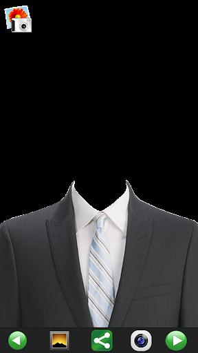 撮影-スーツの男