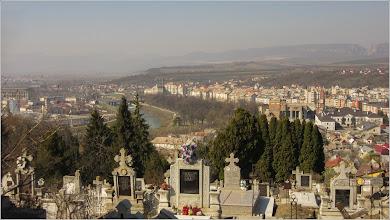 Photo: Turda, vedere  din Cimitirul central, Raul Aries  - 2019.03.31