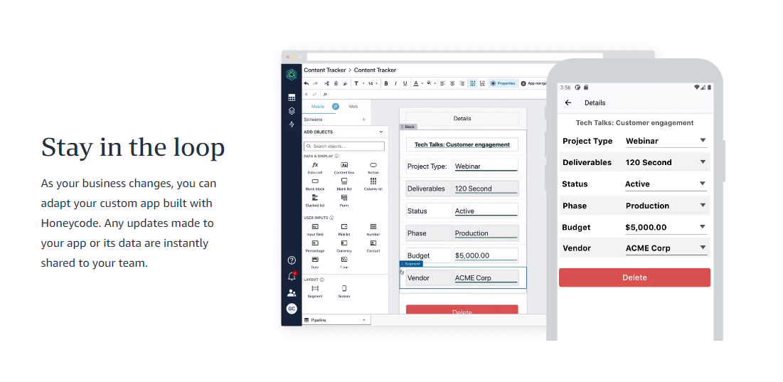 Comparativa de herramientas no-code para crear apps nativas -  19