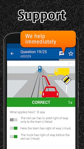Screenshot for iTheory Car Theory Test Switzerland 2019 in Hong Kong Play Store