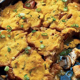 Savoury Chicken & Cornbread Cobbler.