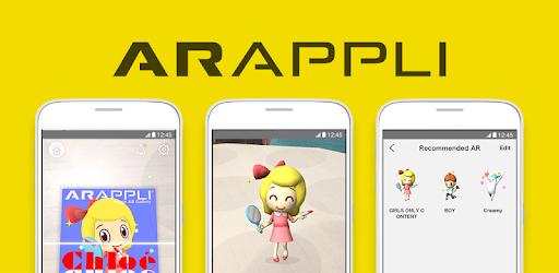 ARAPPLI - AR(拡張現実)アプリ...