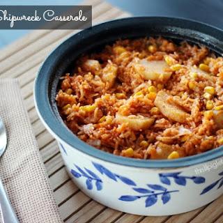 Hamburger Rice Tomato Soup Casserole Recipes.