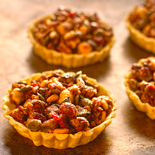 Pumpkin Seed, Cranberry And Nut Tartlets