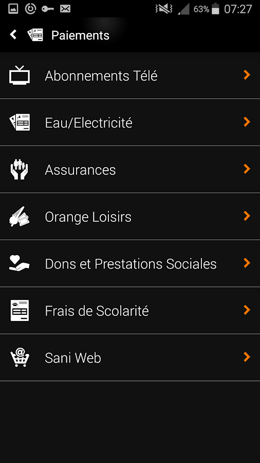 Orange Money Mali- screenshot