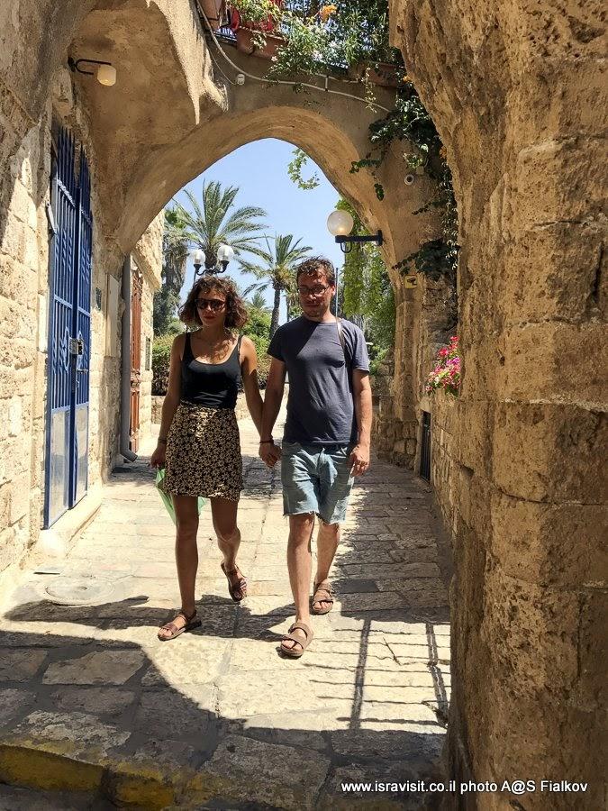 Прогулка по Старому Яффо. Израиль.
