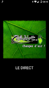 Chlorophylle FM - Radio- screenshot thumbnail