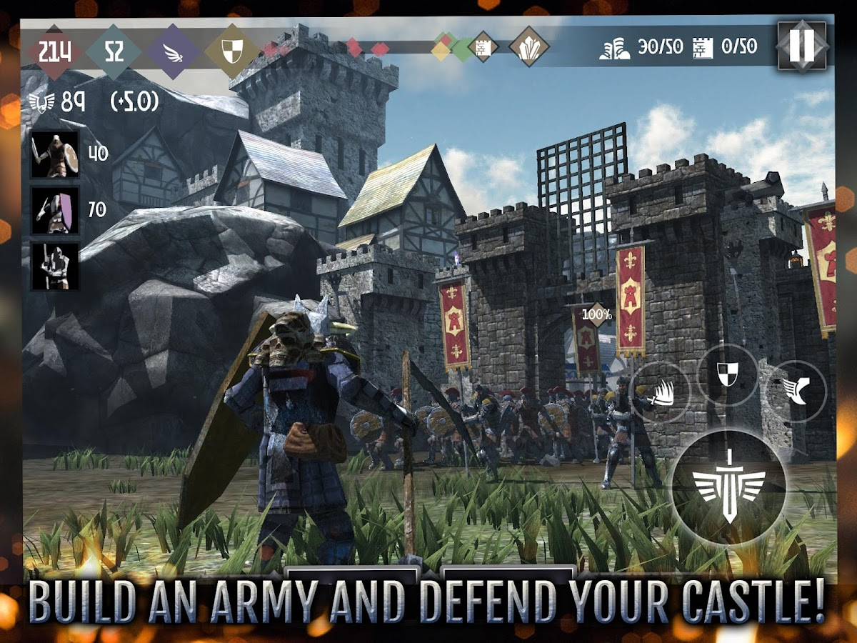 Heroes and Castles 2- screenshot