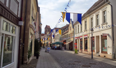 Photo: Geschmückte Straße