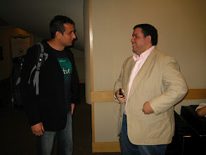 Photo: Manu from Google and Emerson from MySpace