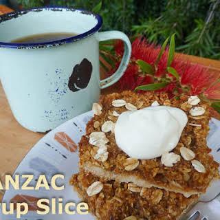 ANZAC Syrup Slice.