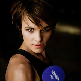 by Hein Le Roux - Sports & Fitness Fitness ( training, face, fitness, woman )
