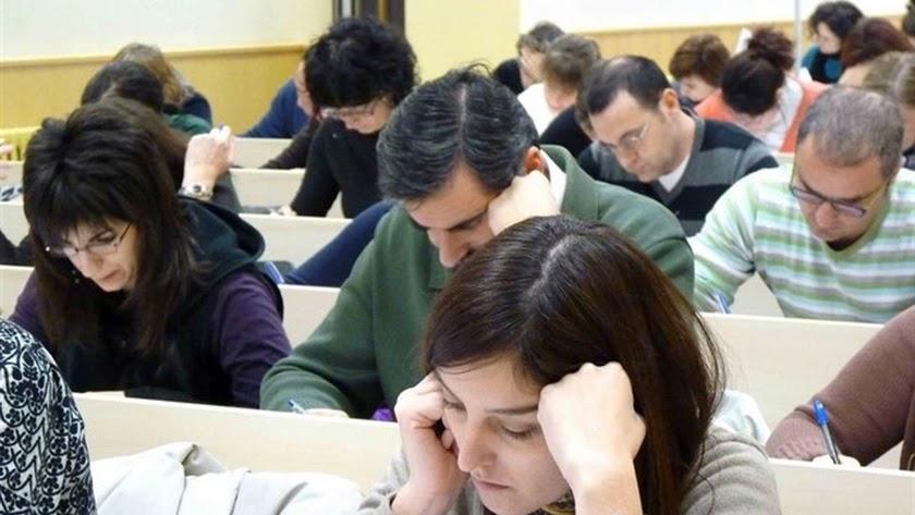 Imagen de archivo de un examen del MIR.