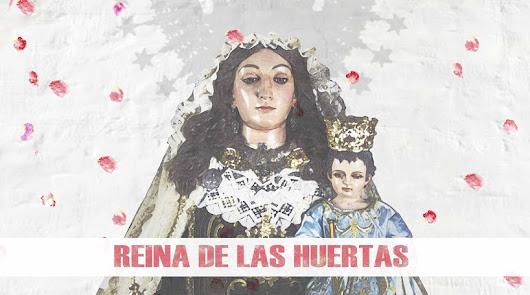Cartel del Carmen de las Huertas, obra de Victor González Felices.