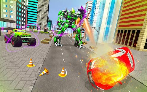 Download monster robot car transform: robot shooting war For PC Windows and Mac apk screenshot 22