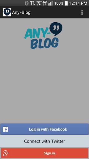 Any-Blog