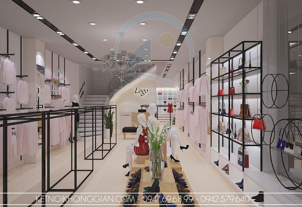 thiết kế shop thời trang nữ đẹp mắt