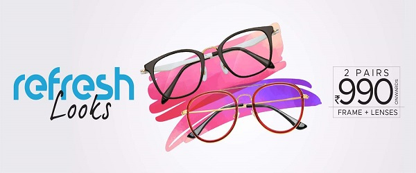 Specsmakers Announcement : Get 2 Pairs Of Eyeglasses!