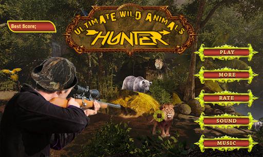 궁극적 인 야생 동물 사냥꾼